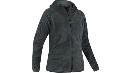Teploučká dámská bunda Dzong Polarlite Womens Jacket carbon, šedá, 36