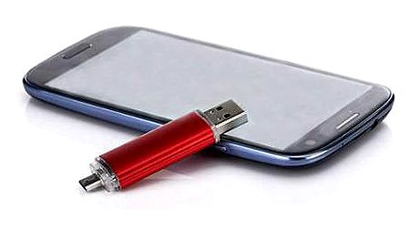 OTG flash disk s kapacitou 32 a 64 GB
