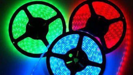 LED pásy v bílé i barevné variantě