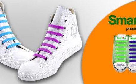 Revoluční tkaničky Smarties