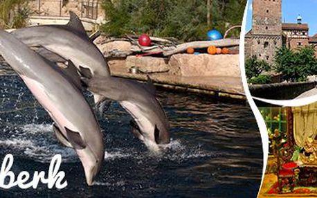 Norimberk: ZOO s delfináriem a Muzeum hraček. Parádní výlet pro malé i velké!