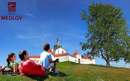 Aktivní léto na Vysočině v Hotelu Medlov*** přímo u rybníka + děti do 3 let zdarma