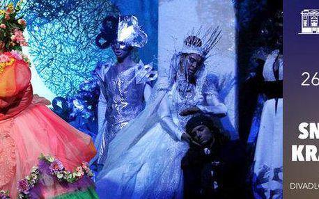 Vstupenka na muzikál Sněhová královna