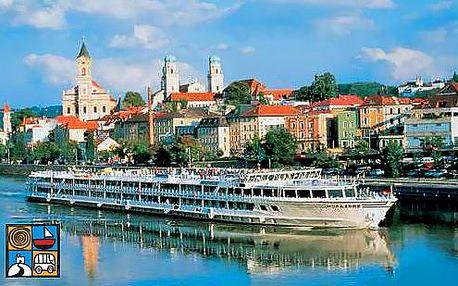 1denní plavba po Dunaji přes Německo a Rakousko