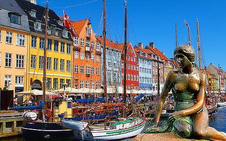 Zájezd do města pohádek a turistů, královské Kodaně