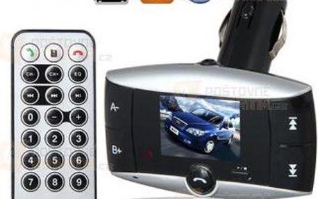 Bluetooth MP3 FM Transmitter s 1.5 displejem a poštovné ZDARMA! - 9999909641