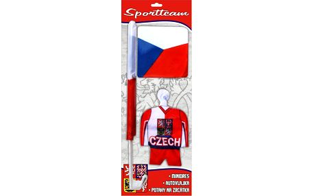SportTeam Fan AUTO sada ČR 1