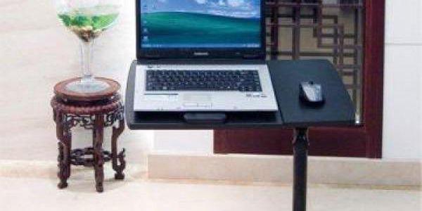 Polohovatelný stolek pod notebook!