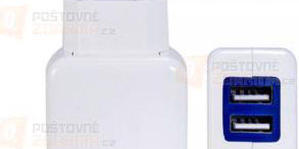 Nabíječka do EU zásuvky - 2 USB porty a poštovné ZDARMA! - 9999920957