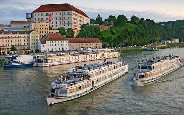 1denní plavba po Dunaji přes Německo a Rakousko2