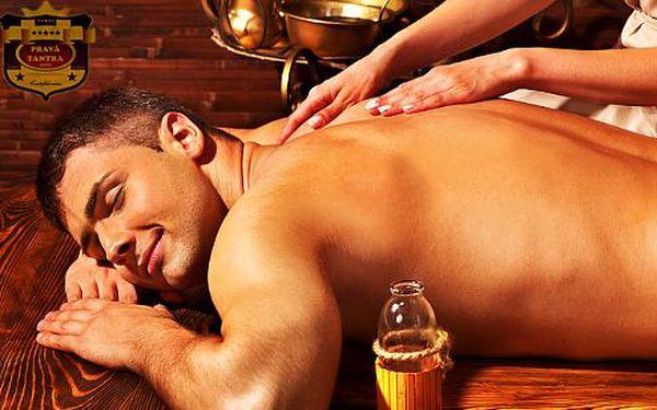 Jedinečná tantrická masáž prostaty se slevou 50 %