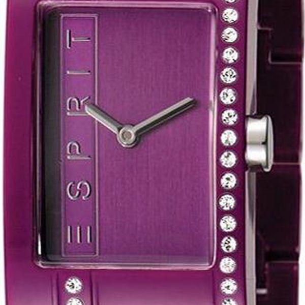 Dámské hodinky Esprit Houston Funky Star Purple ES103562006