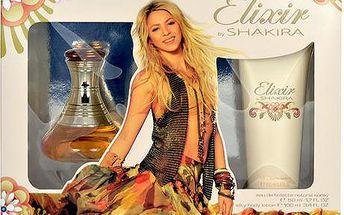 Toaletní voda Shakira Elixir Edt 50ml + 100ml tělové mléko