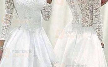 Sexy krajkové bílé šaty a poštovné ZDARMA! - 9999920975