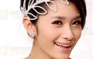 Nádherný šperk do vlasů zdobený kamínky a poštovné ZDARMA! - 9999921014