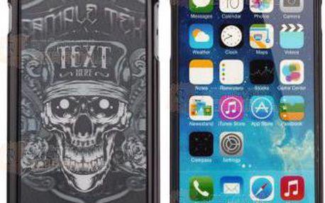 Kryt na iPhone 6 motiv lebka a poštovné ZDARMA! - 9999921002
