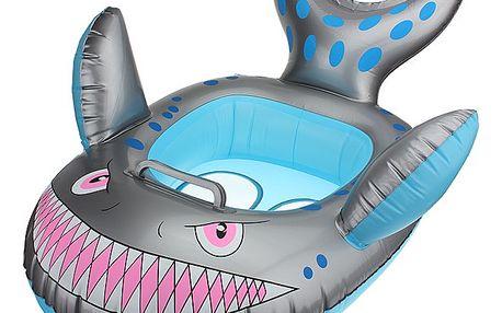 Nafukovací kruh v designu žraloka