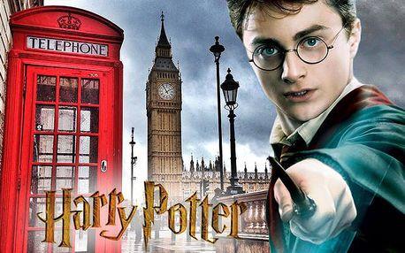 Zájezd do Londýna s prohlídkou filmových ateliérů, kde vznikal Harry Potter