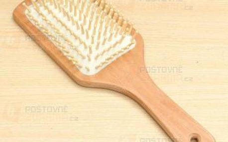 Dřevěný antistatický kartáč na vlasy a poštovné ZDARMA! - 9999920979