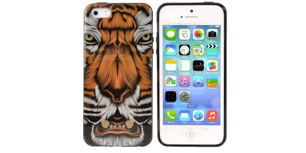 Kryt na iPhone 5/5S motiv tygra a poštovné ZDARMA! - 9999921001