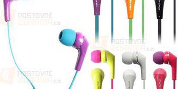 Barevná 3,5 mm sluchátka - 7 barev a poštovné ZDARMA! - 9999920982