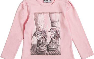 Růžový top - mašličkové boty