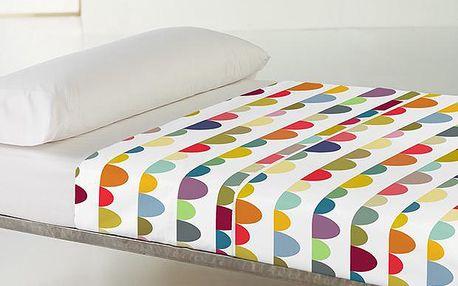 Prostěradlo a povlak na polštář Bunting 100x140 cm
