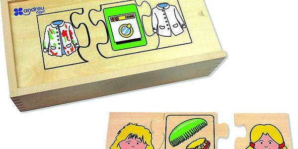 Puzzle s činnostmi pro děti