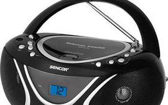 Sencor SPT 227 B RADIO S CD / MP3 / USB