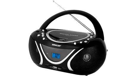 Sencor SPT 227 B RADIO S CD / MP3 / USB
