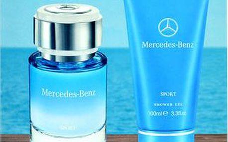 Mercedes-Benz Mercedes-Benz Sport EDT dárková sada M - Edt 75ml + 100ml sprchový gel pro muže