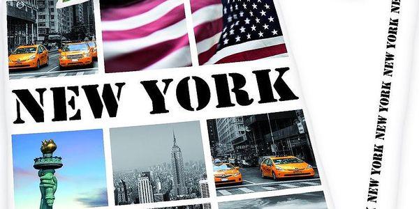 Povlečení New York pohlednice