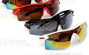 Sportovní sluneční UV brýle ve 4 barvách a poštovné ZDARMA! - 9999921029