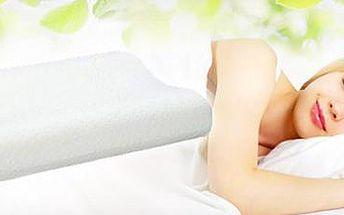 Anatomicky tvarovaný polštář Memory: spěte jako na obláčku a navíc bez bolesti!