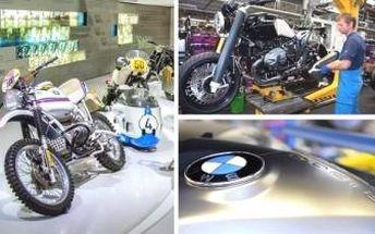 Zájezd do výrobny motorek BMW v Berlíně včetně vstupenky. VELKÝ ZÁŽITEK pro motocyklové fandy.
