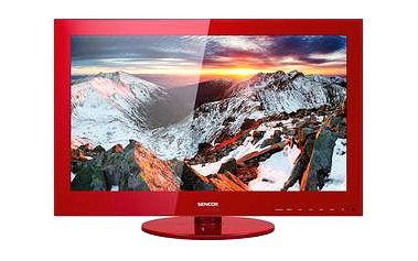 LED televize Sencor SLE 24F58M4 RED s úhlopříčkou 60cm