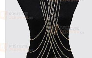 Tělový šperk k plavkám - vícevrstvý a poštovné ZDARMA! - 9999921085