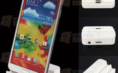 Mini nabíjecí stanice pro Samsung Galaxy Note 3 a poštovné ZDARMA! - 9999921076