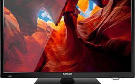 LED televize s úhlopříčkou 60 cm Sencor SLE 2457M4