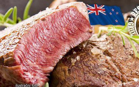 300g vysoký roštěnec z novozélandského býčka