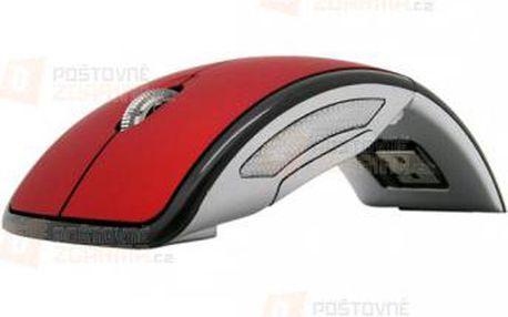 Bezdrátová skládací myš 2,4Ghz ve 2 barvách a poštovné ZDARMA! - 9999921047