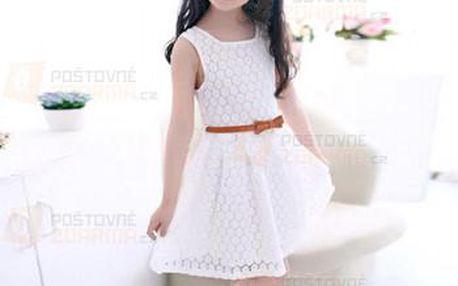 Romantické šaty pro malé slečny a poštovné ZDARMA! - 9999921050
