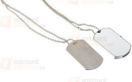 Vojenské známky s flash diskem a poštovné ZDARMA! - 9999918811