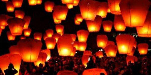 Lampiony štěstí jen za 129 Kč! 5 ks bílých lampionů