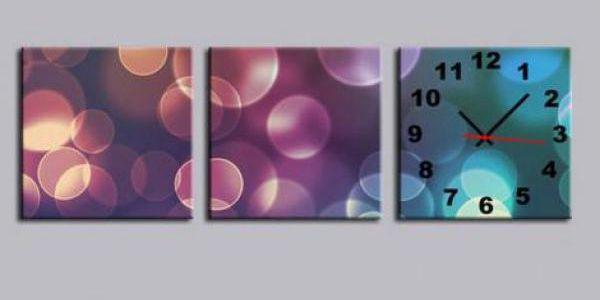 Designové obrazové hodiny ve čtyřech variantách!