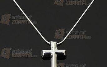 Unisex náhrdelník s přívěskem kříže a poštovné ZDARMA! - 9999921156