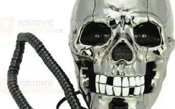 Stylový klasický telefon v podobě lebky a poštovné ZDARMA! - 9999921137