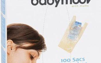 Jednorázové sáčky na použité pleny Babymoov - 100 ks
