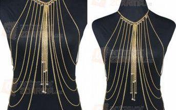 Výrazný vícevrstvý bikini tělový šperk a poštovné ZDARMA! - 9999921149