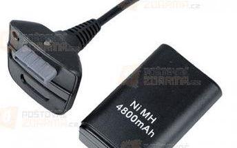 800mAh nabíjecí baterie a kabel na Xbox 360 a poštovné ZDARMA! - 9999921100